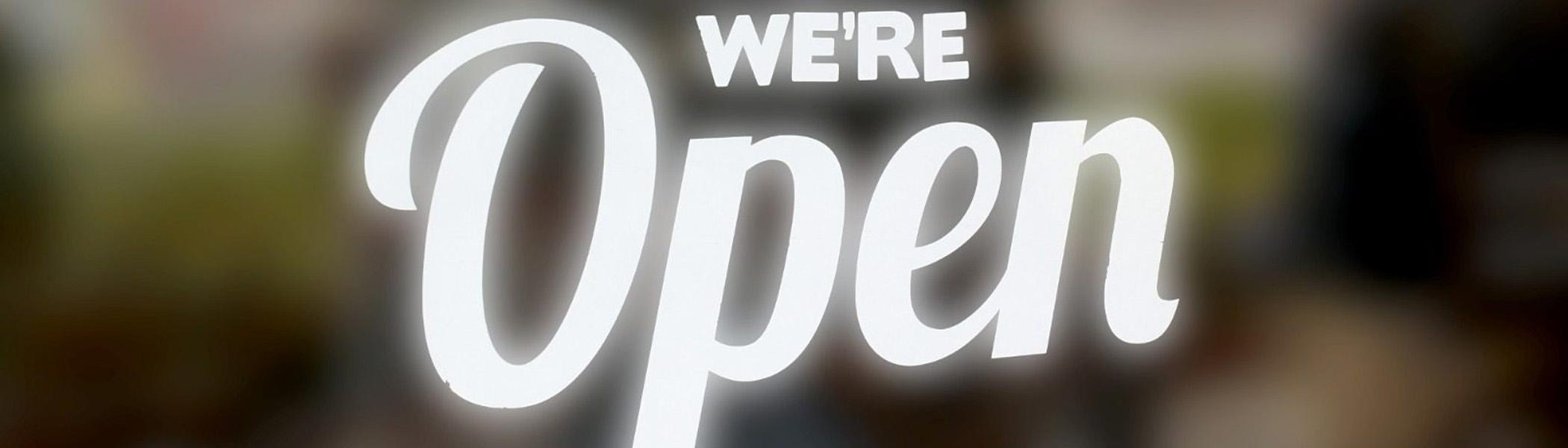 Bishopbriggs We're Open